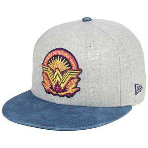 Wonder Woman Strength Grace Love Snapback Hat NEW